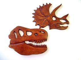 Podkładki pod kubek w kształcie głowy dinozaura DIY. Instrukcja wykonania.