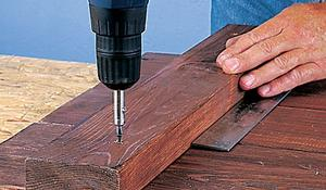 KROK I - Wykonywanie podstawy donicy drewnianej