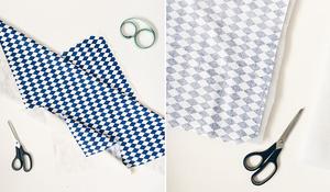 KROK I - Przycinanie tkaniny