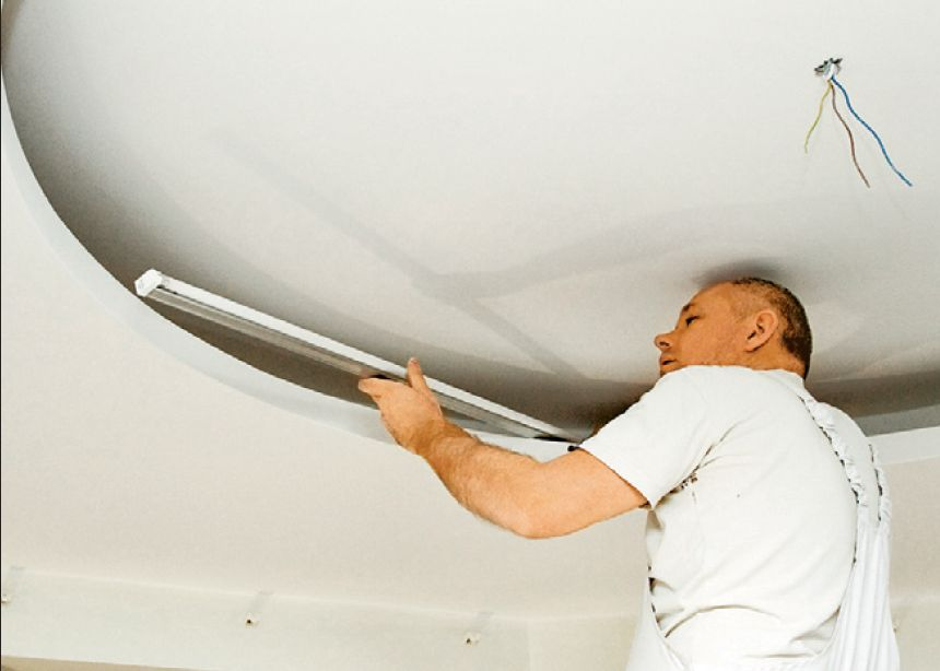 Делаем двухуровневый потолок из гипсокартона своими руками 78