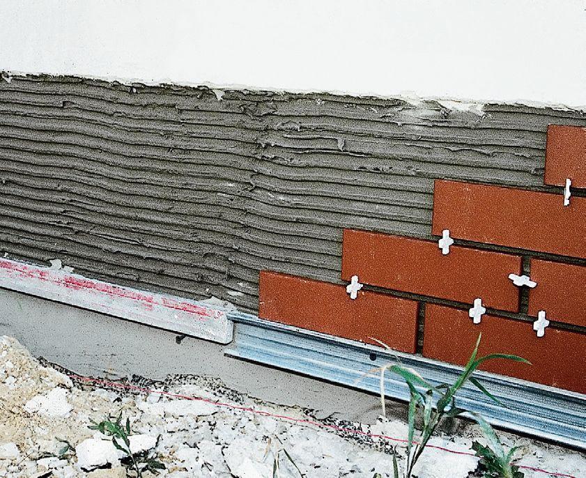 Укладка плитки на фундамент своими руками