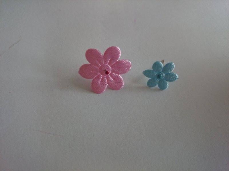 Krok III - Przygotowanie kwiatków
